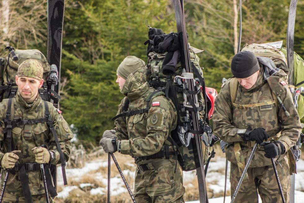 Dolny Śląsk - żołnierze rywalizowali wgórach
