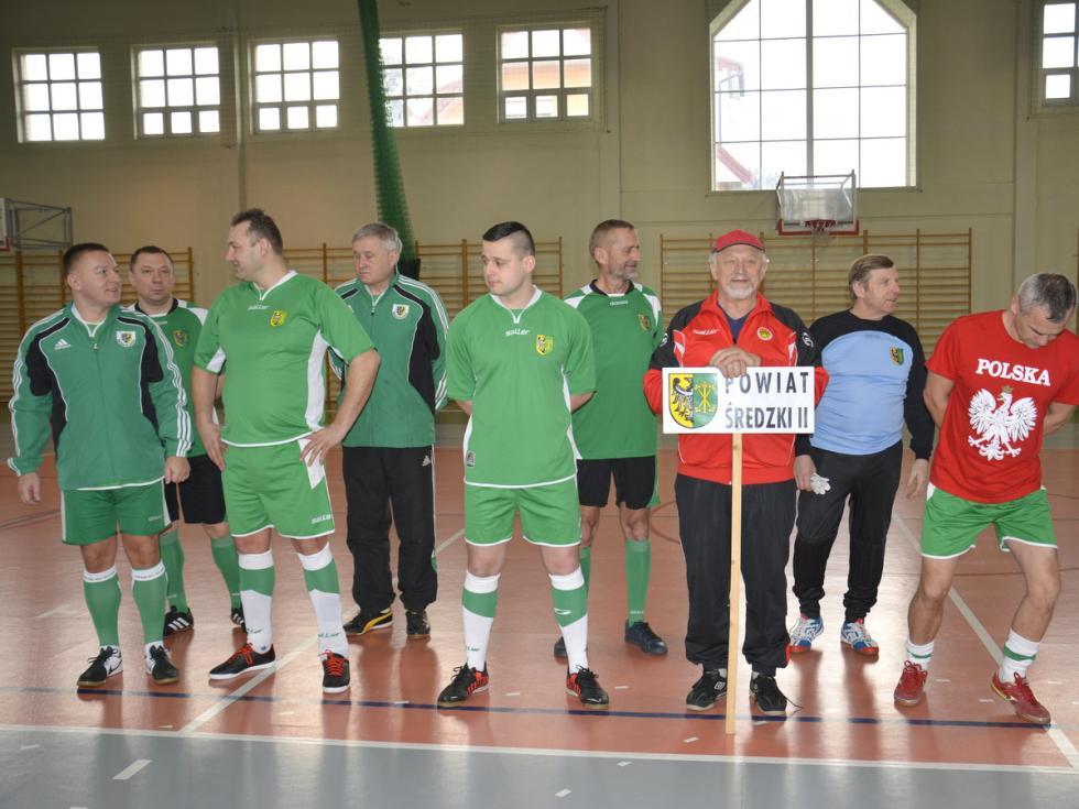 XII Mistrzostwa Radnych Dolnego Śląska wHalowej Piłce Nożnej
