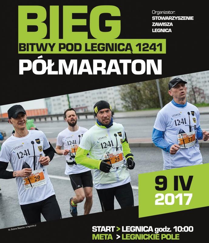 Półmaraton Bitwy Legnickiej 1241 Legnica Legnickie Pole