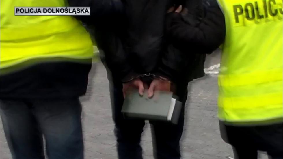 Uderzenie wnielegalne salony gier na Dolnym Śląsku