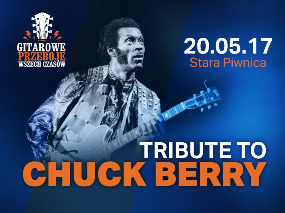 Gitarowe Przeboje Wszech Czasów wracają. Tribute To Chuck Berry wStarej Piwnicy