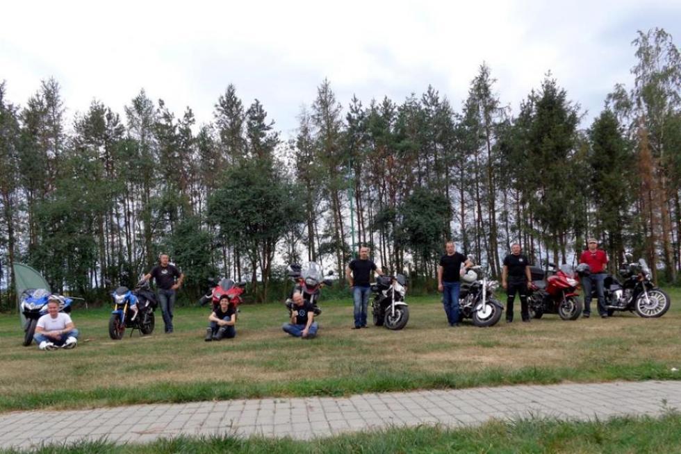 Motocyklami na Monte Cassino