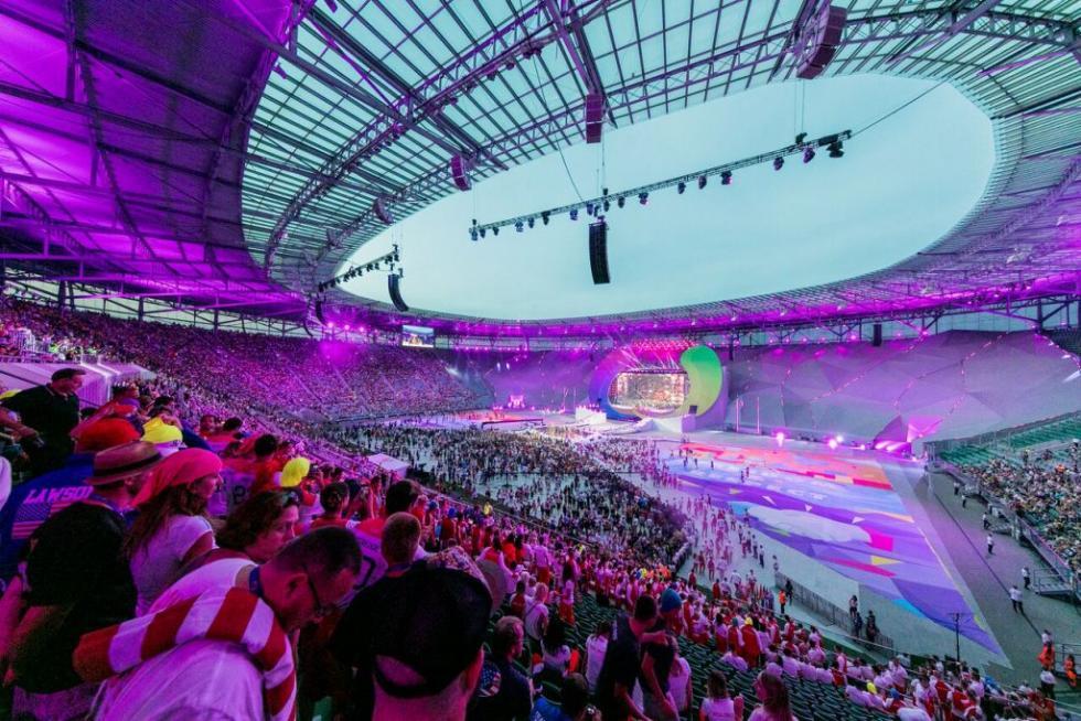 Niemal 100 tysięcy kibiców na wydarzeniach The World Games Wrocław 2017