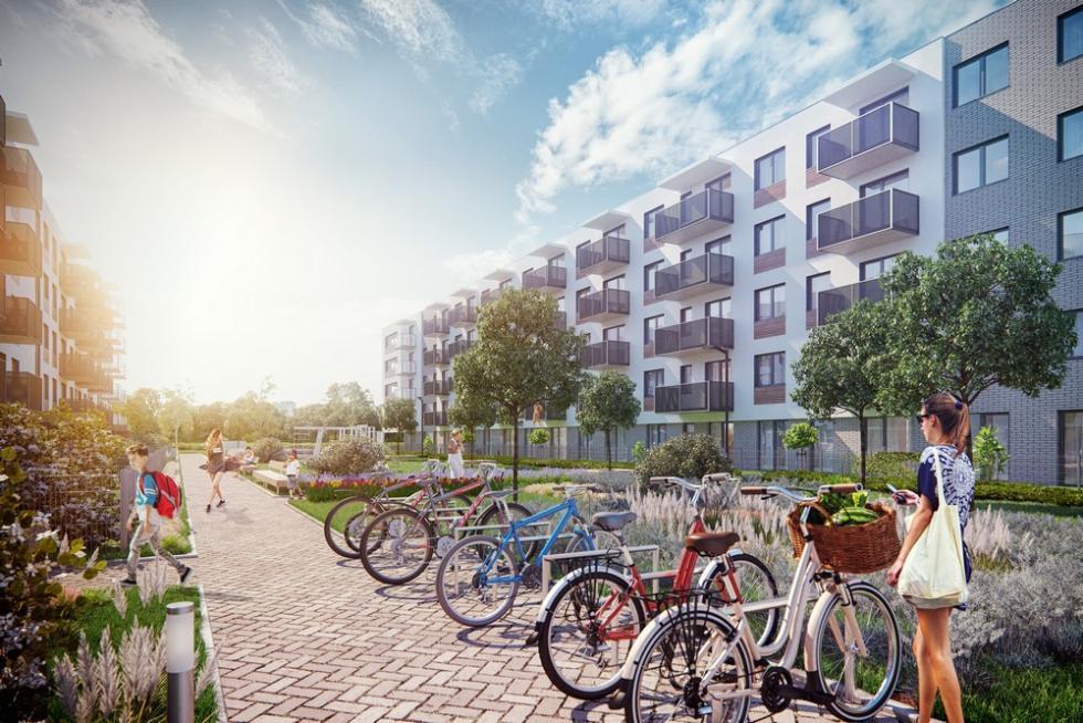 Jutrzenka – nowa inwestycja wskandynawskim stylu na Klecinie