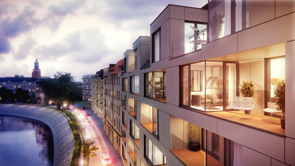 Apartamenty butikowe wcentrum Wrocławia