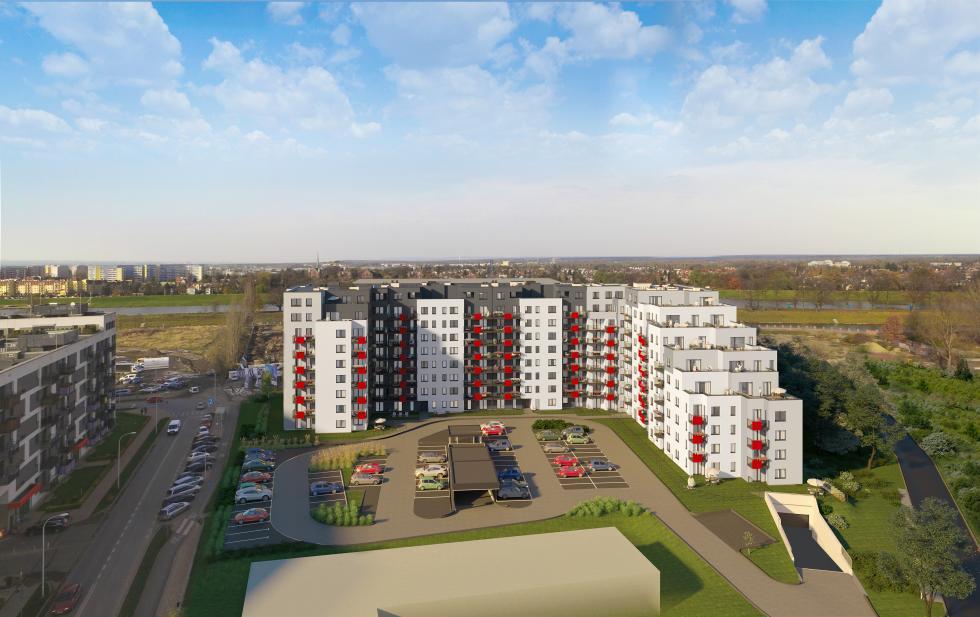 Wrocław rozwija się nad Odrą