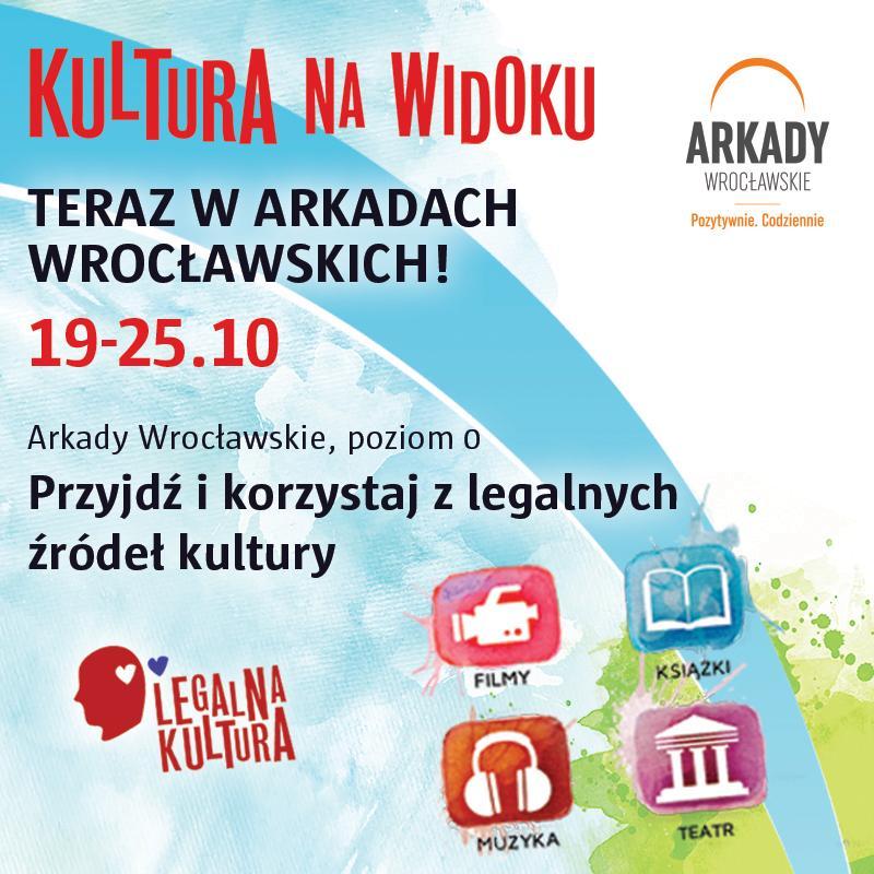Kultura na Widoku wArkadach Wrocławskich