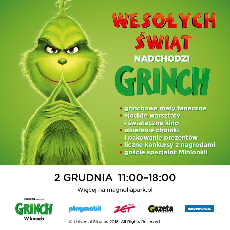 Nadchodzi Grinch! Przedświąteczne spotkanie weWrocławiu
