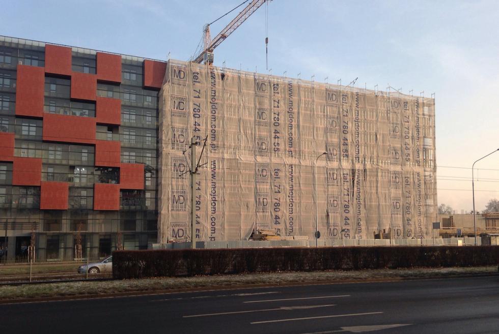 Już wkwietniu zakończenie budowy trzeciego etapu Pixel House