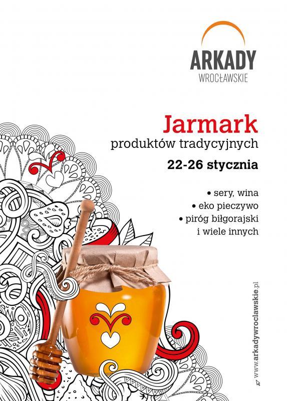 Jarmark wyrobów regionalnych wArkadach Wrocławskich