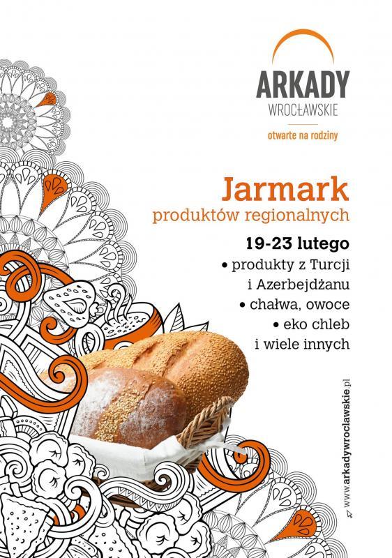 Jarmark Produktów Regionalnych wArkadach Wrocławskich