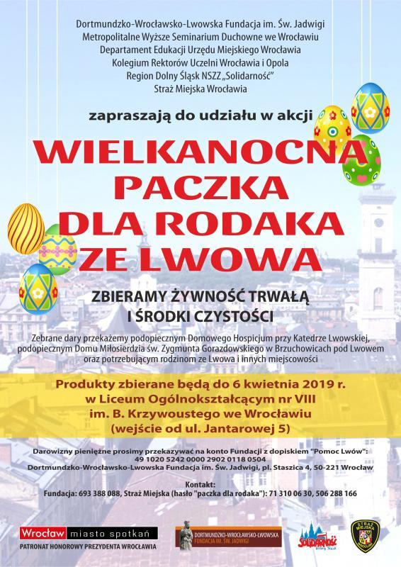 Wielkanocna paczka dla rodaka ze Lwowa