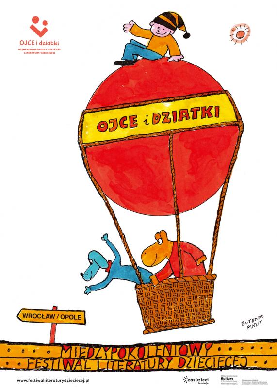 Międzypokoleniowy Festiwal Literatury Dziecięcej weWrocławiu