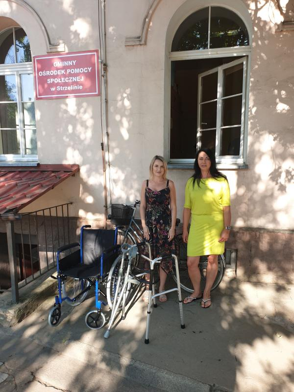 Bezpłatna wypożyczalnia sprzętu dla osób niepełnosprawnych wStrzelinie