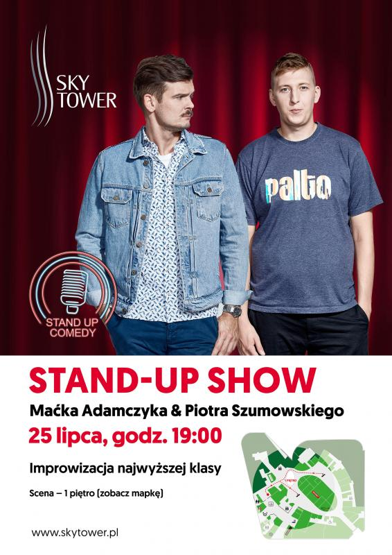 Letnia dawka humoru: Stand-up w Sky Tower