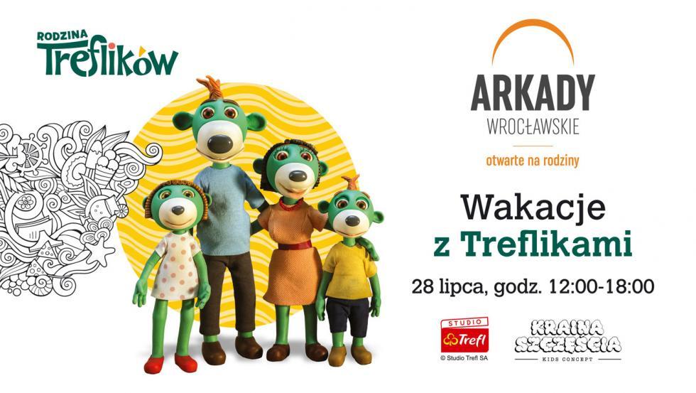 Wakacje zTreflikami wArkadach Wrocławskich
