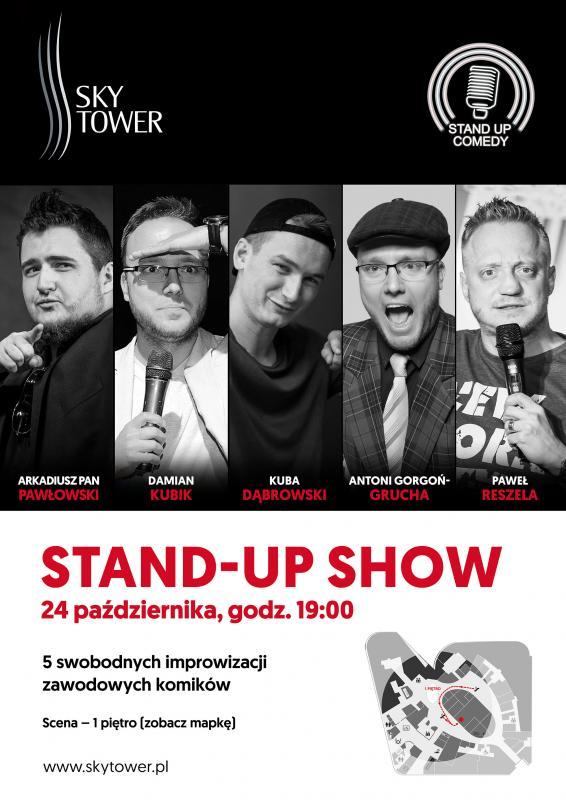 Czwartek ze stand-up' em wSky Tower