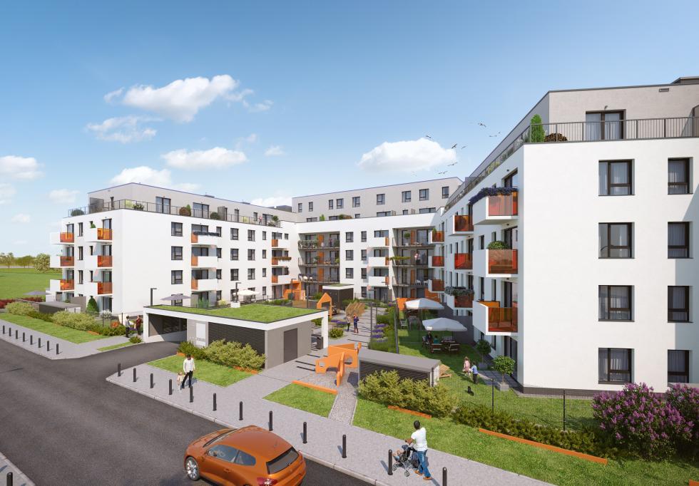 Jagodno - rozpoczęła się sprzedaż irealizacja nowej inwestycji weWrocławiu