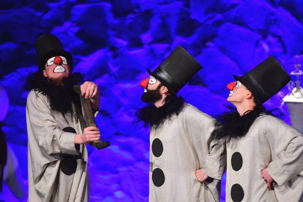Teatr pantomimy wArkadach Wrocławskich