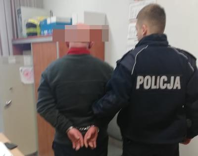Sprawca 4 przestępstw zatrzymany