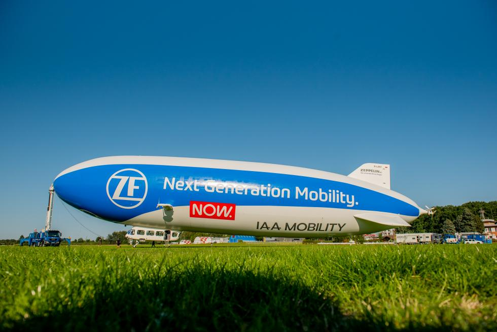 Wrocławianie spójrzcie wniebo! Nadlatuje Zeppelin
